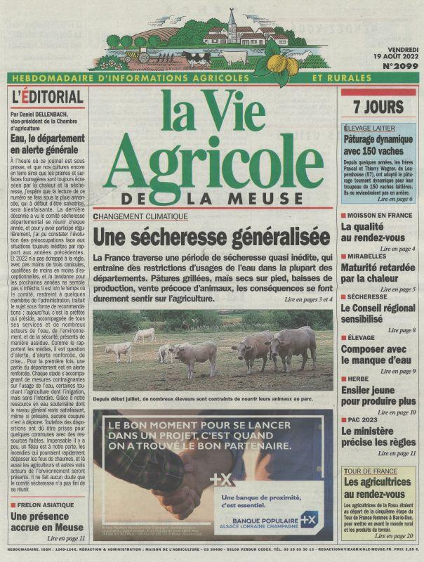 VIE AGRICOLE DE LA MEUSE (LA)