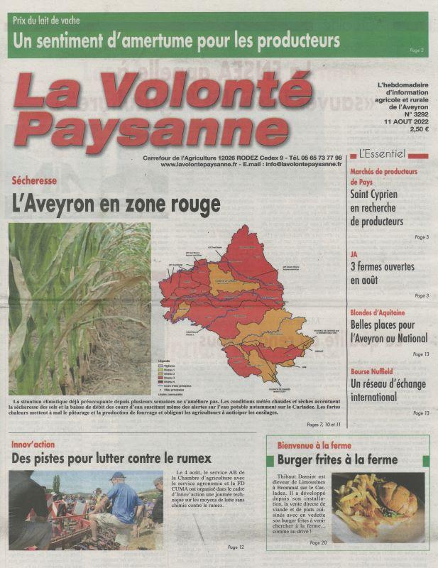 VOLONTE PAYSANNE (LA)