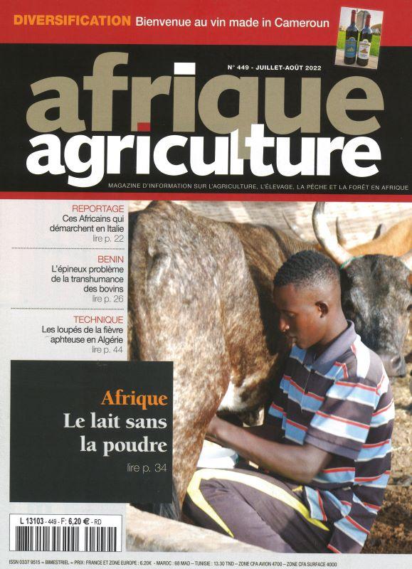 AFRIQUE AGRICULTURE
