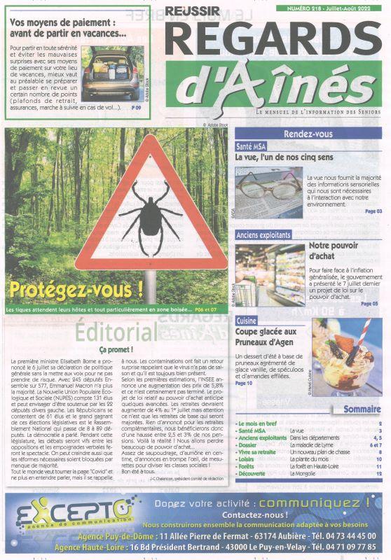 REGARDS D'AINES