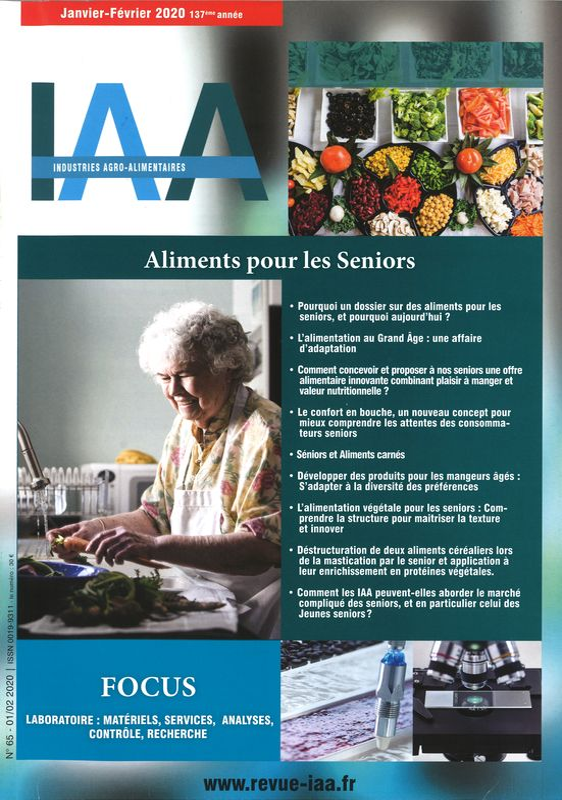 INDUSTRIES ALIMENTAIRES ET AGRICOLES (IAA)